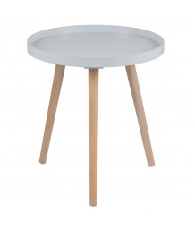 Grey Round Table (Large)