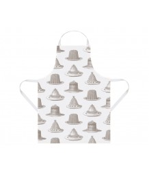 Thornback & Peel - Apron, Jelly & Cake, Grey