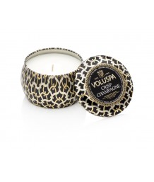 Voluspa Maison Noir - Crisp Champagne Mini Tin Candle