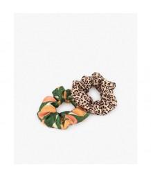 Scrunchies-Pink Savannah & Peach