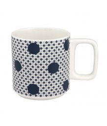 Cath Kidston -  GEO SPOT STACKABLE MUG