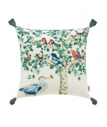 Cath Kidston - BIRDS IN TREE 45 X 45 FILLED CUSHION