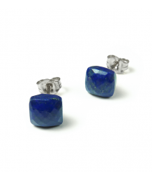 Mounir Lapis Lazuli Sterling Silver Stud Earring