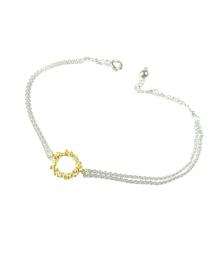 Mounir Gold Circle Bracelet